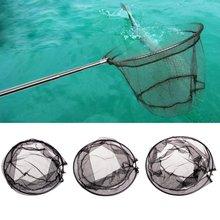 Рыболовные складные сети с ромбовидным отверстием для глубины