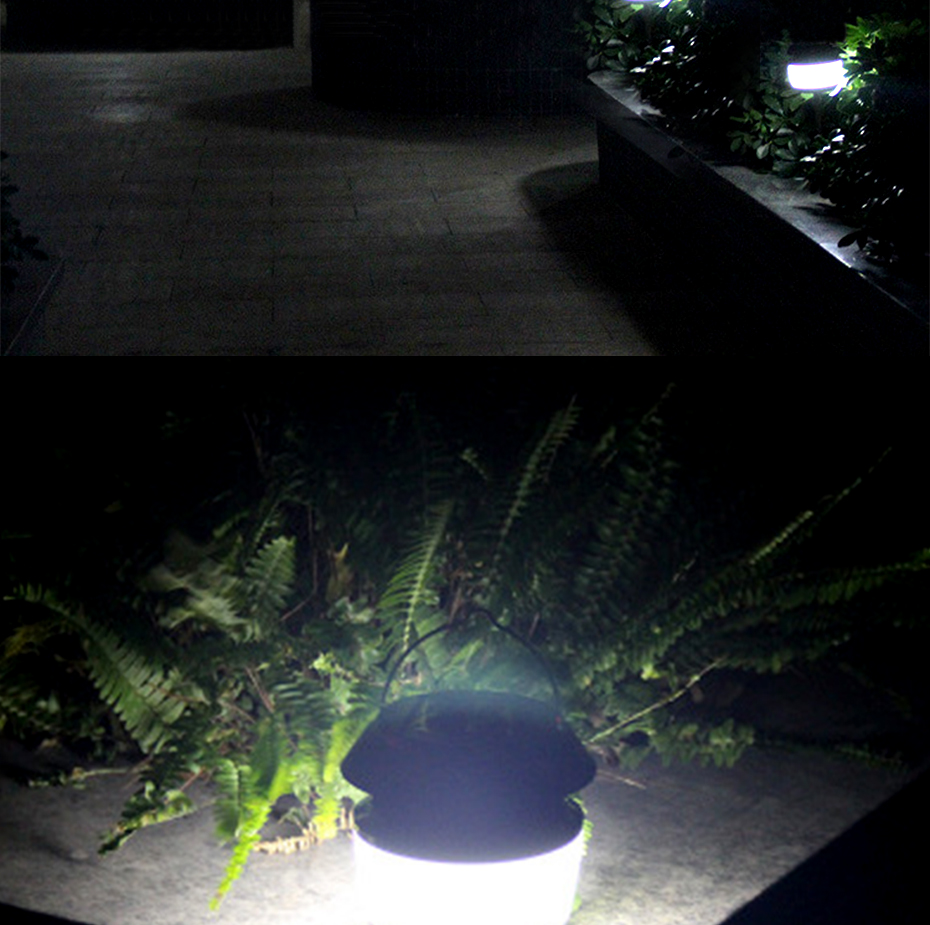 Lâmpada Do Jardim Ultrasonic Repelente de Insetos