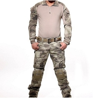 A TACS Tactical Combat Uniform Gen3 shirt + pants Military Army Pants with knee pads Size S XXL ACU MULTICAM WOODLAND DIGI