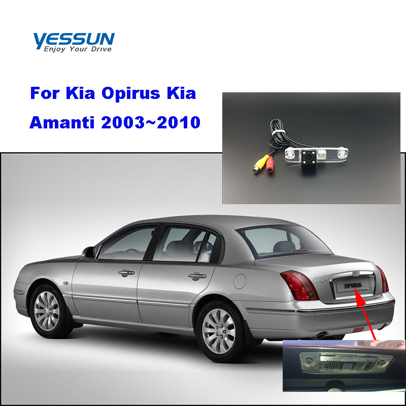 Yessun License palte camera For Kia Opirus Kia Amanti 2003~2010 View camera Parking Assistance(China)