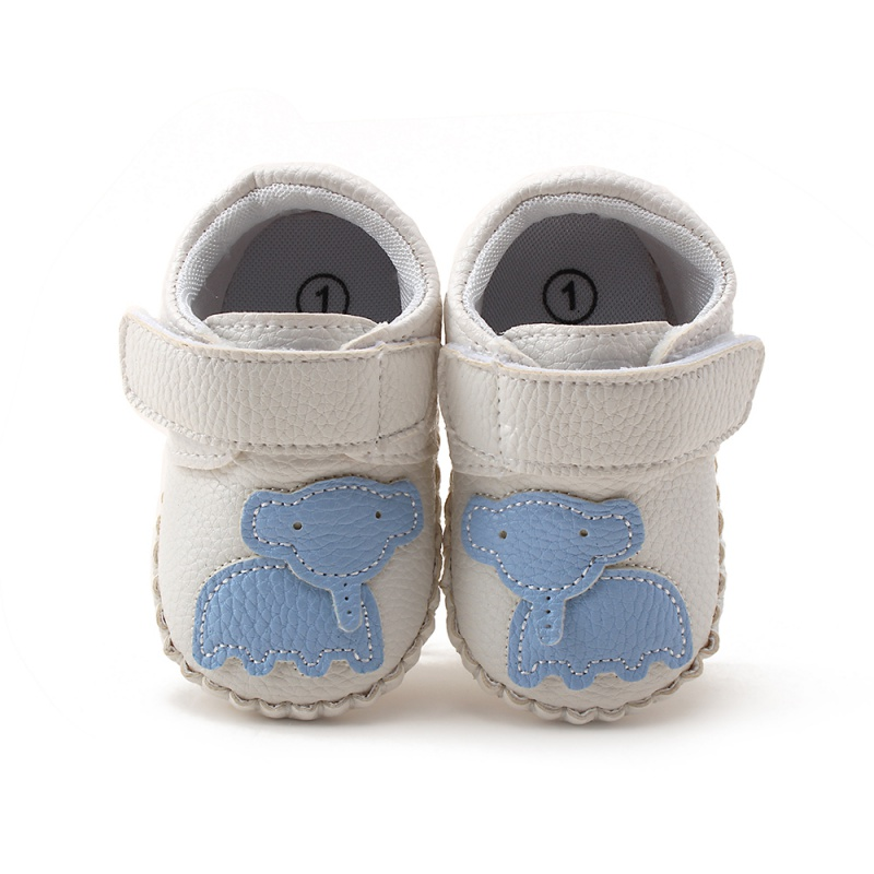 Baby First Walker Boy Girls Soft Sole PU Leather Shoes Infant Toddler Moccasin 0-18M