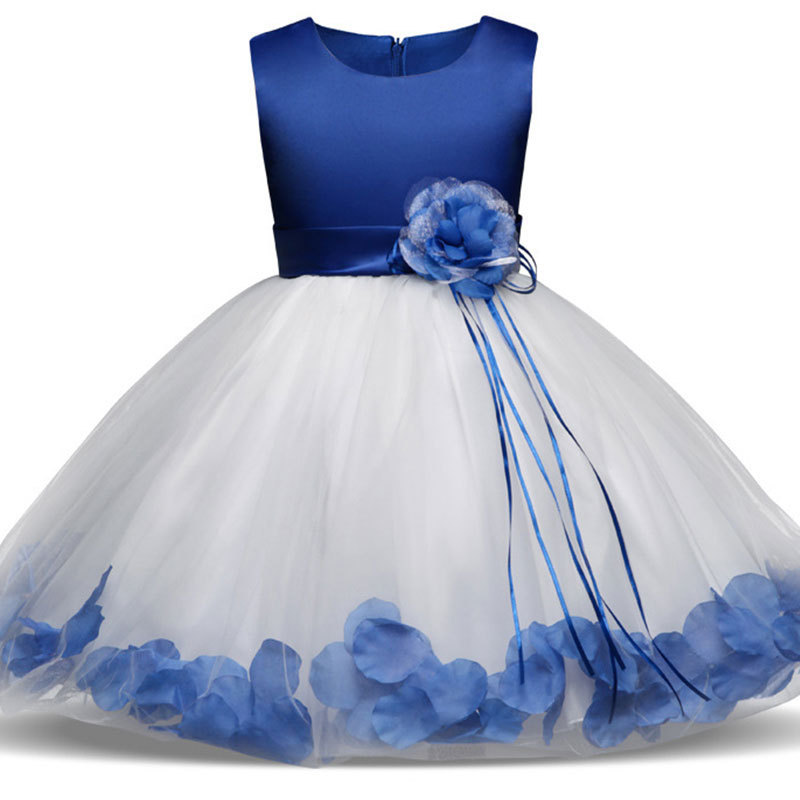 2019 New Children Girls Floral Dress Baby Toddler Girl Mesh Ball Gown Dresses Princess Rose Party Dress Gift Headwear2019 New Children Girls Floral Dress Baby Toddler Girl Mesh Ball Gown Dresses Princess Rose Party Dress Gift Headwear