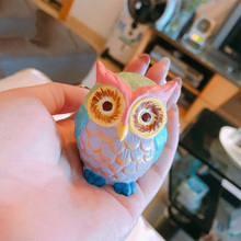 Stereo Owl Silicone Mold Aromatherapy Candle Mold Diy Handmade Soap Mould Spread Incense Stone Mold