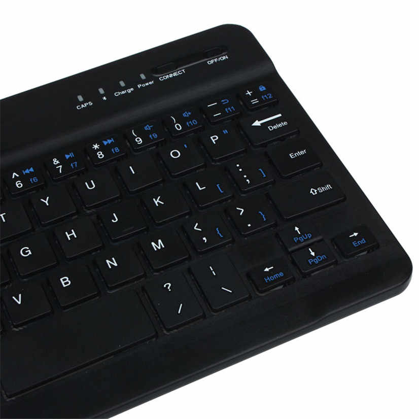 Factory price Ultra Slim Aluminum Wireless Bluetooth Keyboard For IOS Android Windows PC J08T