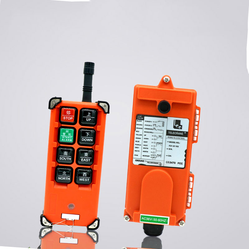 F21-E1B for hoist crane 1 transmitter and 1 receiver industrial wireless redio remote control switch switches