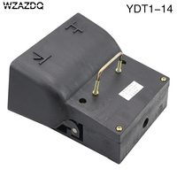 WZAZDQ foot switch YDT1 14 cast iron bidirectional up and down pedal switch silver contact hydraulic bending machine