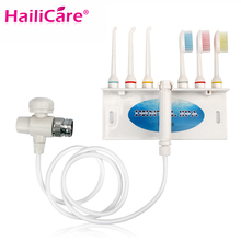 Alta Calidad Jet de Agua Dental Irrigador Oral cepillo de Dientes Cepillo Interdental Diente Hilo Dental Para Los Dientes Para Blanquear Los Dientes