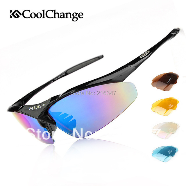 118d6f1583b Cool change cycling mountain biking outdoors polarized sunglasses glasses  five groups to send frames interchangeable lenses