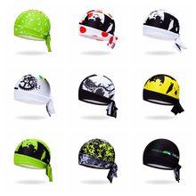 2018 Bike Hats Cycling Helmet Cap Women Men Bicycle bandana pirates scarf  Mountain road MTB Team Headband Headwear sports cap e1b4594a0e08