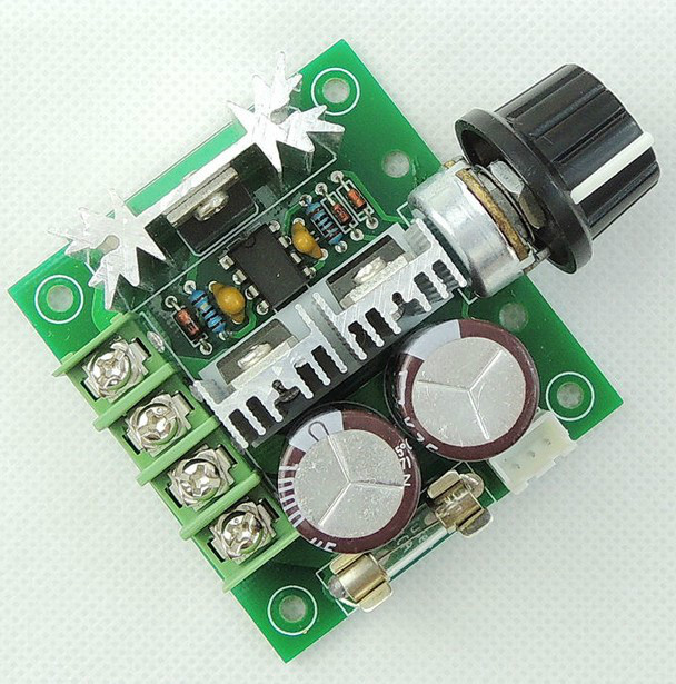 10pcs Width Modulation 12V-40V 10A Pulse PWM DC Motor Speed Control Switch New