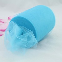Hot Sale Turquoise Tulle Roll Spool 6inch X 100yd Tutu Wedding Gift Craft Party Tutu Bow