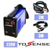 DC Inverter Welding Machine Plsama Welder ZX7200 220V With 3M Clamp Holder