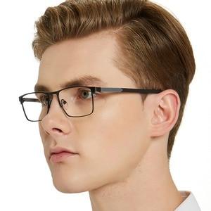 Image 4 - OCCI CHIARI גברים משקפיים מסגרת משקפיים אופטיים מסגרות ברור עדשת זכר משקפיים Oculos דה גראו יום אב מתנה W CRIFO