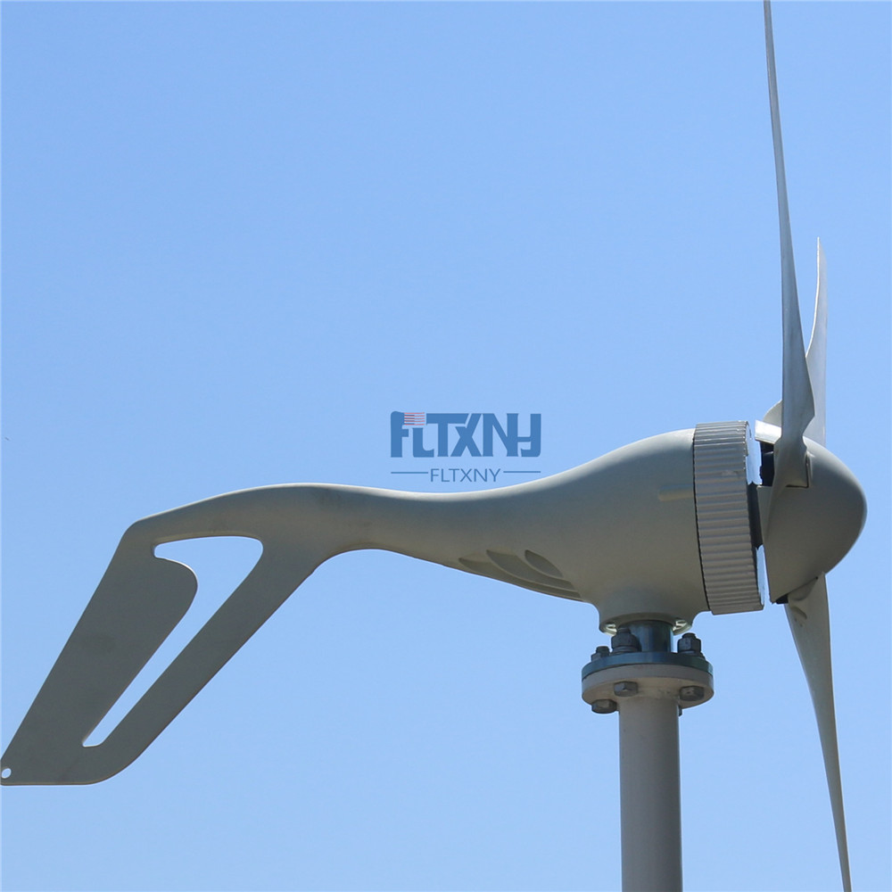 400w wind turbine 12v24v for home use streetlight and yacht electricity supply urgent power station with MPPT charge controller