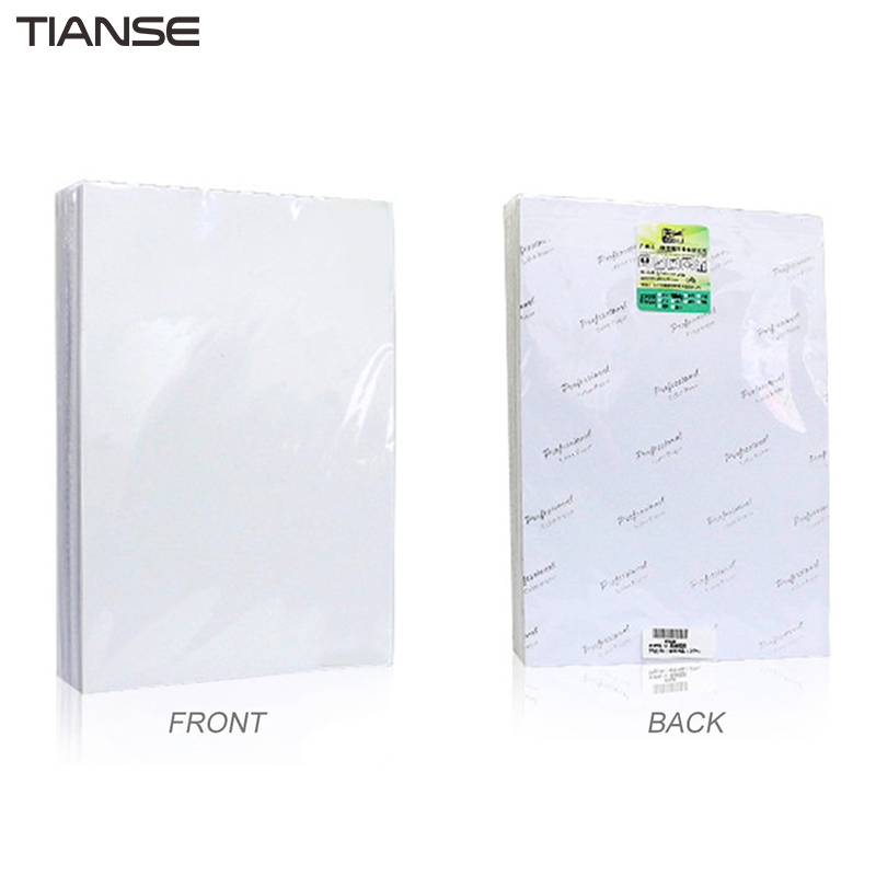 TIANSE High Glossy Photo Paper 180g/ 230g Color Inkjet Printing Paper 5 Inch/ 6 Inch/ 7 Inch Waterproof Photo Paper