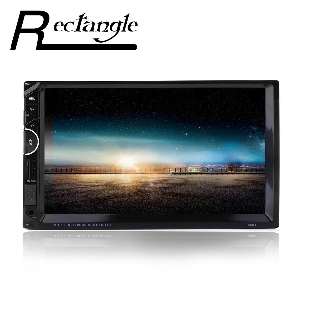 """imágenes para Multimedias Del Coche más nuevo MP3 MP4 MP5 Player + Gps 7 """"HD Bluetooth Reproductor de Radio Soporte RDS AM FM Cámara de vista trasera"""