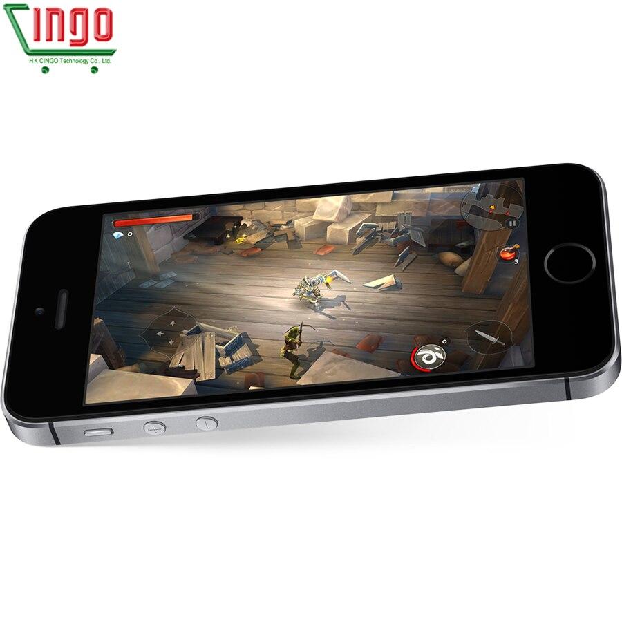 Apple iPhone SE double noyau téléphones portables 12MP iOS empreinte digitale tactile ID 2GB RAM 16/64GB ROM 4G LTE reconditionné iPhone se - 5