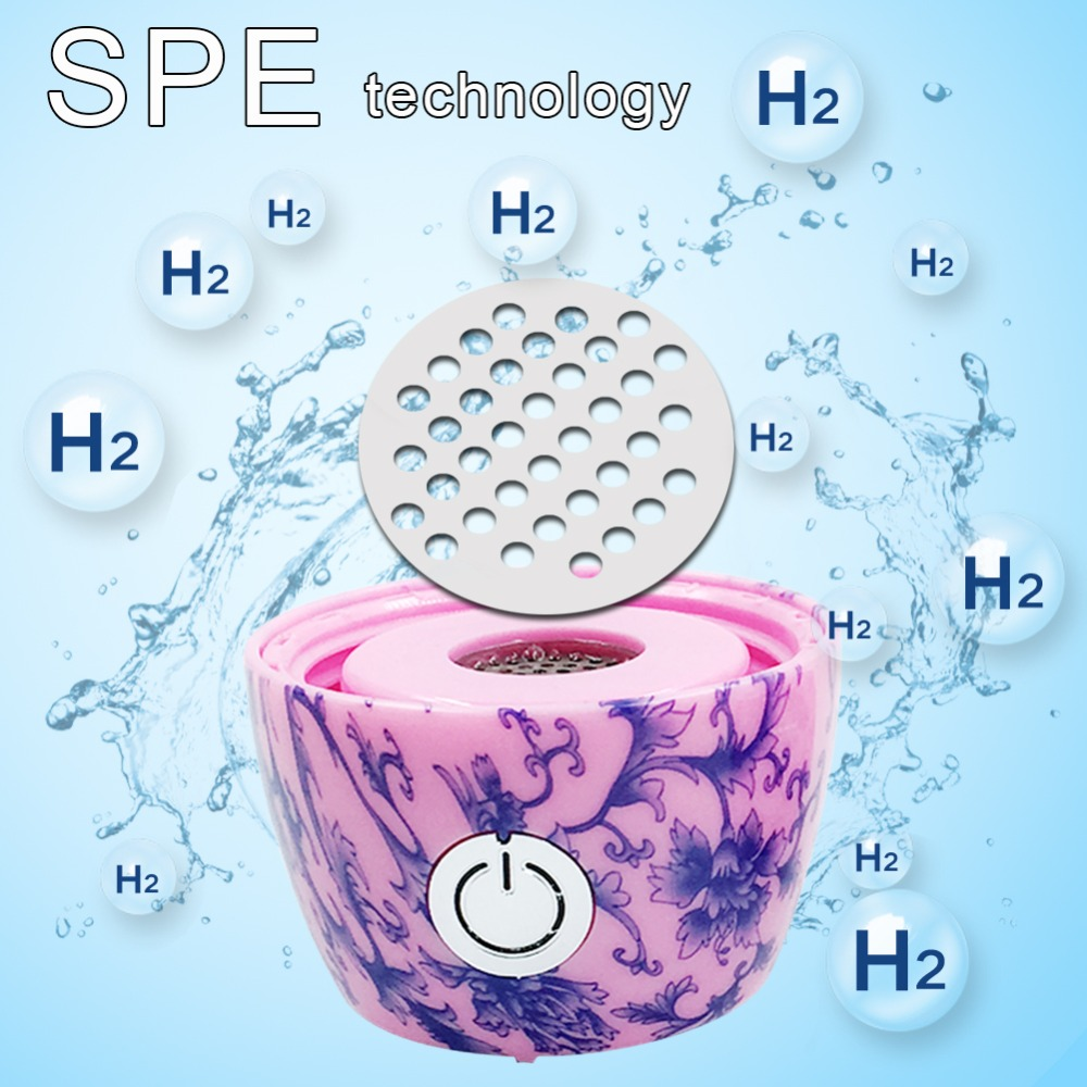 SYNTEAM Fashion Hydrogen Generator Bottle Bottom Super ORP Hydrogen Maker Separate H2 and O2 Alkaline Water Ionizer WAC011