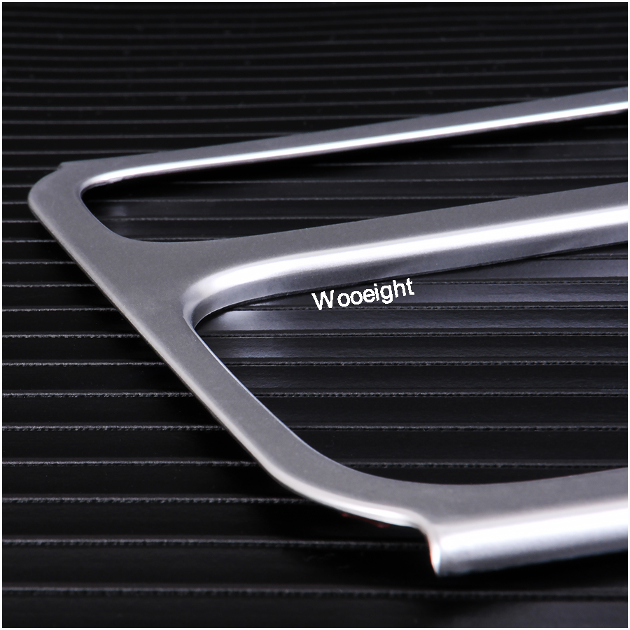 Car Interior Accessories ABS  Brake Cup Holder Panel Trim Cover Decoration For VW Volkswagen Tiguan 2012 2013 2014 2015 (6)