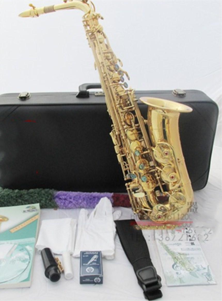 739c43e65be1 Top Japanese Yanagisawa 901 E-flat Alto Saxophone Metal Mouthpiece Gold  Lacquer Musical Instruments Professional Free shipping