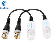 10Pairs 20Pieces CCTV Video Balun Anti-thunder Twisted Passive Video BNC Passive Video Balun Transceiver CAT5 UTP Adapter passive video balun for tradditional cctv system and analog camera and dvr 10pair free shipping