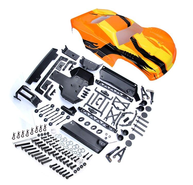 1/5 rc baja parts Rovan baja rc car parts 5T kits A( With color body ...