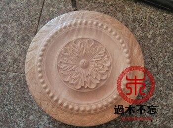 Don't forget the wooden wood carving of Dongyang rice FLOWER  round  door window table sofa cabinet door flowe