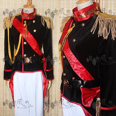 APH, Франция, Френсис боннефой, карнавальный костюм, униформа на Хэллоуин, наряд, пальто + штаны + ремень, на заказ