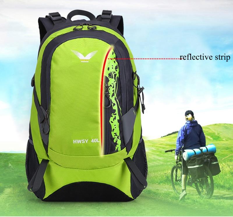 70e1157fd7 2018 New Design Large 40L Travel Backpack High Quality Waterproof Nylon  Laptop Backpack For Men Black Casual Backpacks Back Pack