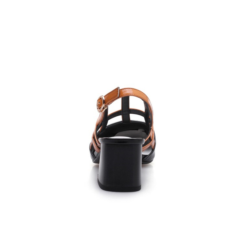 Femme Red De Épais Gamme Haut Talon Mode Bout Carré Rouge Doux Style Véritable Pompes Femmes Chaussures wine Black Simples En Nouveau Stylesowner Cuir 2018 Aw0xEqEg