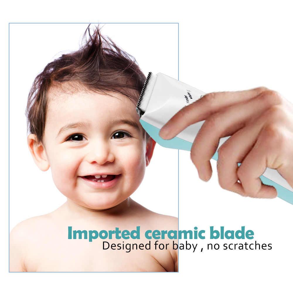 GL Электрический детский триммер для волос Машинка для стрижки волос ребенка по уходу за волосами резки Remover Перезаряжаемые тихий Дети младенческой Для женщин шерсть домашних животных бритвы