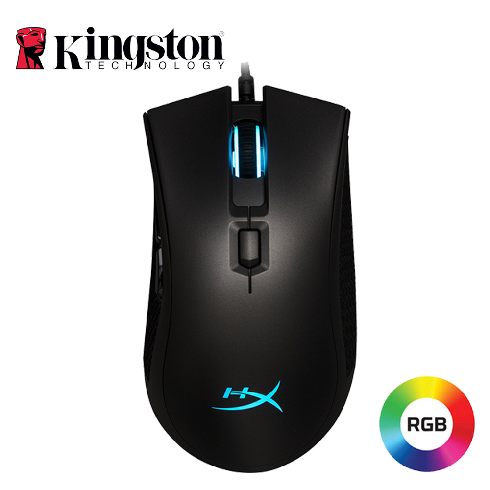 Kingston HyperX Pulsefire FPS Pro RGB Gaming Mouse FPS Performance Wired Mouse With Native DPI Up To 16000 Pixart 3389 Sensor