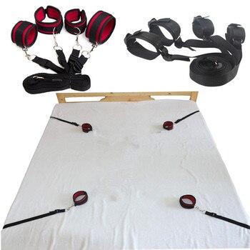 Adult Games sex tools Bondage Under Bed Restraint Foot HandCuffs,bondage restraints Love Sex Toys Sex Products For Couples 1