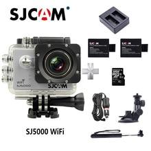 SJCAM SJ5000 WI-FI действие Камера WI-FI 2,0 ЖК-дисплей NTK96660 30 м Водонепроницаемый Камера 1080 P Ultra HD Спорт Камера