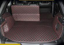 Good mat! Special trunk mats for New Jeep Grand Cherokee 2015-2010 waterproof boot carpets for Grand Cherokee 2014,Free shipping