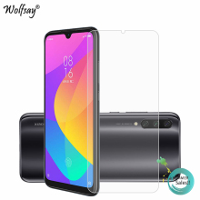 2PCS Glass For Xiaomi Mi A3 Screen Protector Tempered Phone Film Protective <