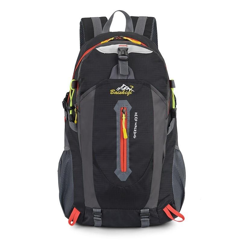 25f02b94d3 Travel Climbing Backpacks Men Travel Bags Waterproof 40L Hiking Backpacks  Outdoor Camping Backpack Sport Bag Men