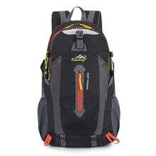 Купить с кэшбэком Travel Climbing Backpacks Men Travel Bags Waterproof 40L Hiking Backpacks Outdoor Camping Backpack Sport Bag Men Backpack
