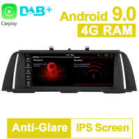 PX6 10.25 4G RAM Android 9.0 Car GPS Navigation System Media Stereo player For BMW 5 Series F10 F11 2013 2014 2015 2016 2017NBT