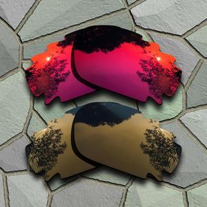 Image 1 - 바이올렛 레드 & 브론즈 구리 선글라스 oakley jawbone vented racing jacket 용 편광 렌즈