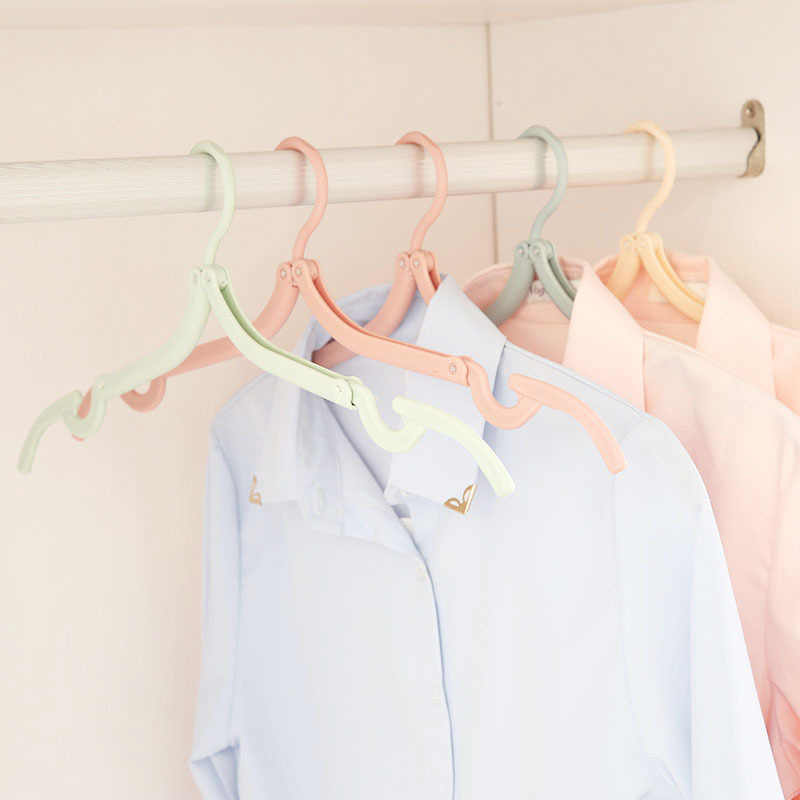Percha plegable para ropa interior, Clips para el hogar, colgador de ropa interior, Clips de tela, colgador de bufanda, organizador, accesorios de baño