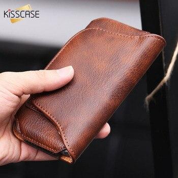 KISSCASE Pour iPhone 7 6 6 s Plus Pour Samsung S7 S6 Bord Peau D'éléphant 5.1