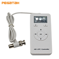 HD AHD Analog UTC Controller For Surveillance CCTV Camera BNC UP The Cable OSD Menu Remote