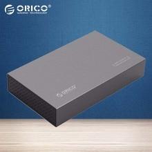 ORICO Алюминий 3.5 дюймов USB 3.0 для SATA3.0 Внешний Жесткий Диск до 8 ТБ 3.5 дюймов HDD [поддержка UASP]-серый