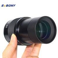 SVBONY 2\'\' ED 2 x Barlow Lens for Astronomy Professional Monocular Binoculars Telescope Eyepiece + 2\
