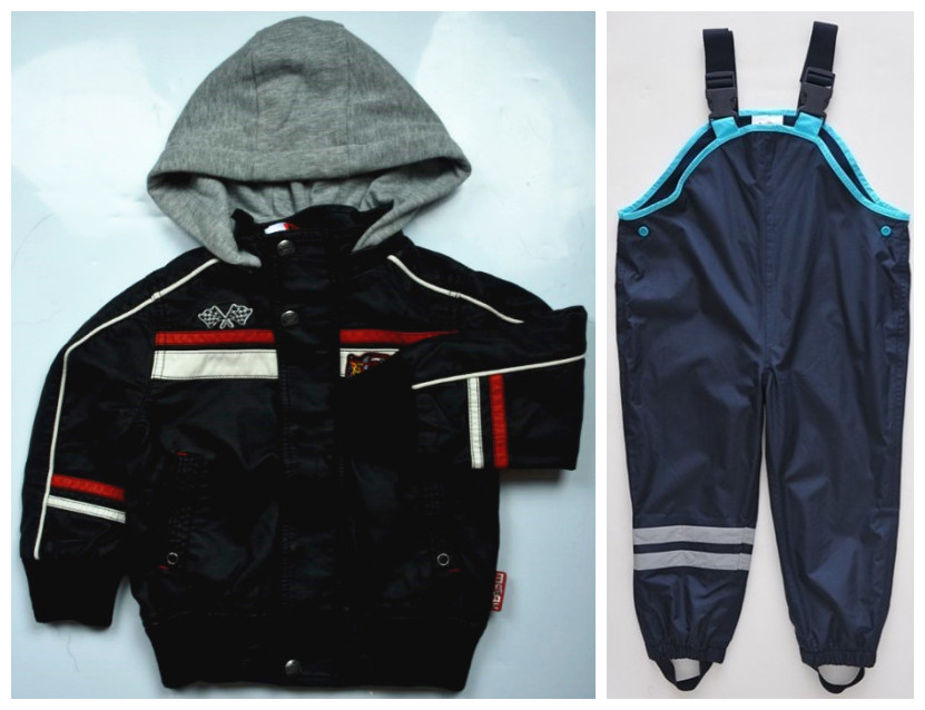 Child, Windproof, Topolino, Outerwear, High, Trousers