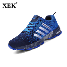 2018 Men Running Shoes Autumn Summer mesh lovers Sneakers,Fly Weave Light Breathable Sport Shoes Comfortable Sneakers ST25