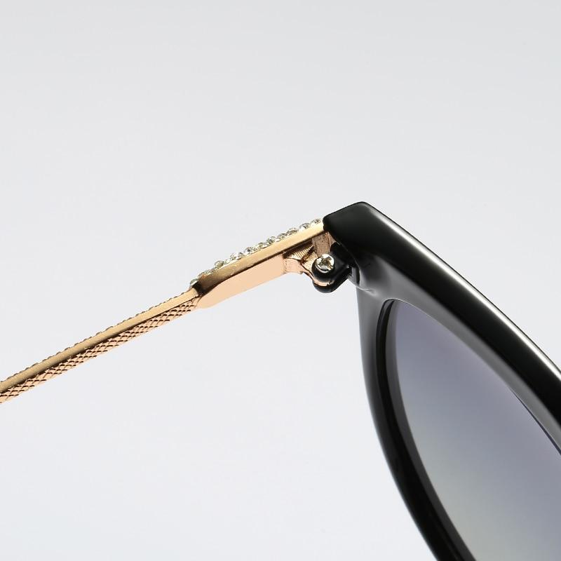 HTB1ePWBatzvK1RkSnfoq6zMwVXat 2020 New Luxury HD Polarized Women Sunglasses Fashion Round Ladies Vintage Brand Design cat eye woman Female Sun Glasses oculos