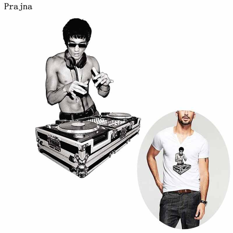 般若岩 DJ アイアンでパッチブルース · リー熱転送中国カンフーパッチ Diy ホットつる植物パッチ tシャツアップリケ