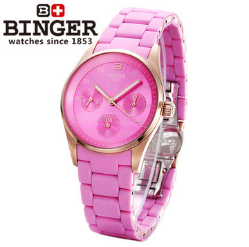 Summer Holiday New Arrival Binger Watches Brand Popular Style Genuine Quartz Watch for Women Hot Sale
